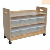 Wooden Toy Organiser