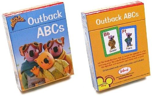 The Koala Brothers Outback ABCs Flashcards