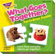 TREND enterprises What Goes Together. Fun-to-Know Puzzle