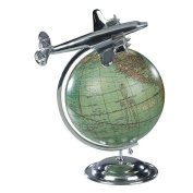 """Aeroplane and Globe Model """"On Top of the World"""""""