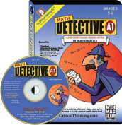 Critical Thinking Press Ctb3905 Math Detective Software A1 Cd Gr5-6 Single Computer Schl Licence