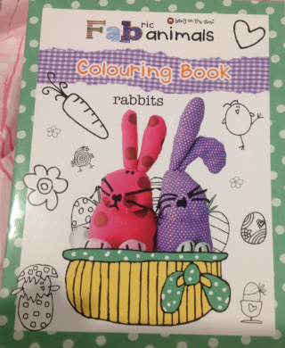 FABric Animals Colouring Book