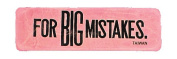 Costumes For All Occasions KB86 Eraser Jumbo