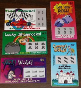 Fake Lottery Tickets 5 Pack Prank