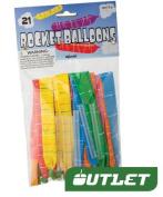 21 Rocket Balloon Refills
