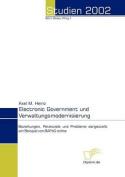 Electronic Government Und Verwaltungsmodernisierung [GER]