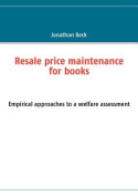 Resale Price Maintenance for Books