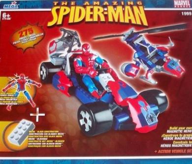 Mega Amazing Spider-man Magnetic Action Set