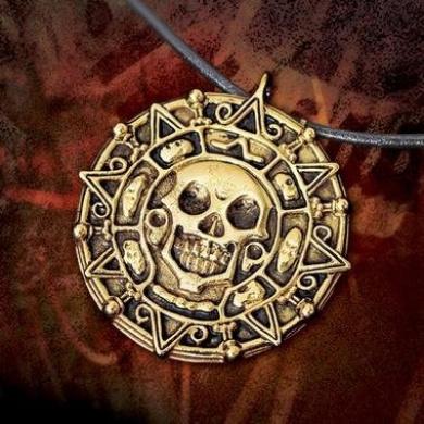 Pirates of the Caribbean II: Dead Man's Chest Elizabeth Swann Necklace Replica