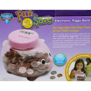 Fun 2 Save Electronic Piggy Bank Displays Savings of Coins Every Time Piggy Bank Toy