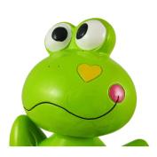 Adorable Bobble Head Frog Hearts Money Bank Piggy