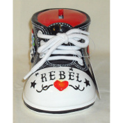 Giftcraft Bootieful Boutique Child's Bank Rebel 482501