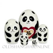 Wood Nesting Doll - Panda