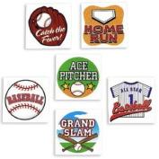 Temporary Baseball Tattoos