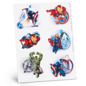 Hallmark Avengers Temporary Tattoo Sheets Party Accessory