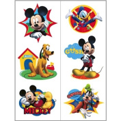 Hallmark Disney Mickey Fun and Friends Tattoo Sheets