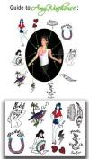 Amy Winehouse SET : (Full Size Tattoos) Temporaray Tattoo