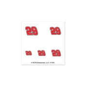 Kevin Harvick Official NASCAR 2.5cm x 2.5cm Fingernail Tattoo Set by Wincraft