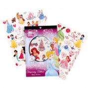 Disney Princess Temporary Tattoo Book Party Supplies