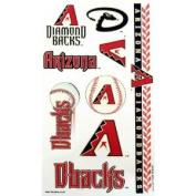 Arizona Diamondbacks Official MLB 10cm x 18cm Temporary Tattoos by Wincraft