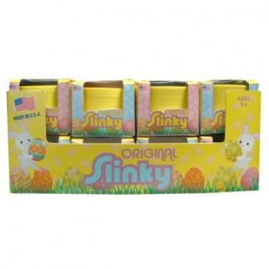 One Plastic Easter Slinky (Colours Will Vary)
