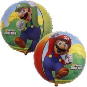 Party Destination Super Mario Bros. Foil Balloon