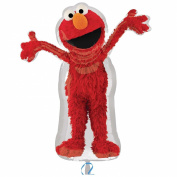 Costumes 205056 Elmo Shaped Foil Balloon