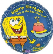 SpongeBob Birthday 46cm Balloon