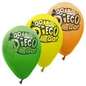 Go Diego Go 11 Latex Balloons 6 pc [Toy] [Toy]