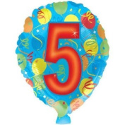 # 5 Printed Mylar Balloon [Toy]