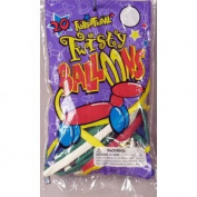Balloons Twisty Toy 20/Pk Assorted