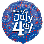 Happy 4th of July Foil Balloon
