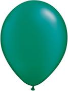 Pioneer Balloon Company 100 Count Latex Balloon, 28cm , Pearl Emerald Green
