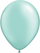 Pioneer Balloon Company 100 Count Latex Balloon, 28cm , Pearl Mint Green