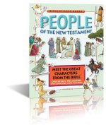 People of the New Testament - Bible Sticker Book - Bible Games - Bible Story Book for Children - with reusable stickers