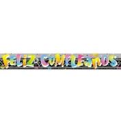 Feliz Cumpleanos Foil Banner 3.7m