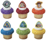 12 ct - Toy Story 3 Buzz Lightyear, Woody and Gang Cupcake Rings