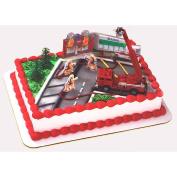 Firefighter Cake Topper Decorating Kit