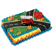 Fire Rescue Cake Decorating Kit