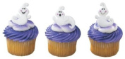 Friendly Ghost Cupcake Rings 12 Pack