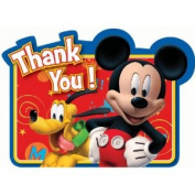 Disney Mickey's Clubhouse Thank You Postcards 8 Pack