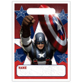 Captain America Party Treat Bags