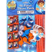 Go Diego, Go! 48pc Party Favour Pack [Toy] [Toy]