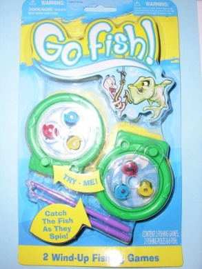 Go Fish 2-PC Go FishTM Wind Up Fishing Games