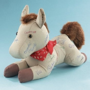Western Brown Autograph Horse