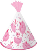 Creative Converting Tutu Much Fun Birthday Party Hats, 8 Count