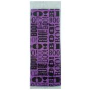 Halloween Boo Purple Paper Tissue 6 Sheets 2 sqm