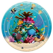 Beistle 58011 Under The Sea Plates - Pack of 12