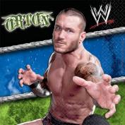 WWE Beverage Napkin