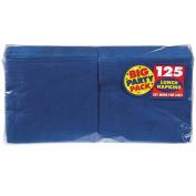 Big Party Pack Luncheon Napkins 33cm . x 33cm . , 125/Pkg, Bright Royal Blue